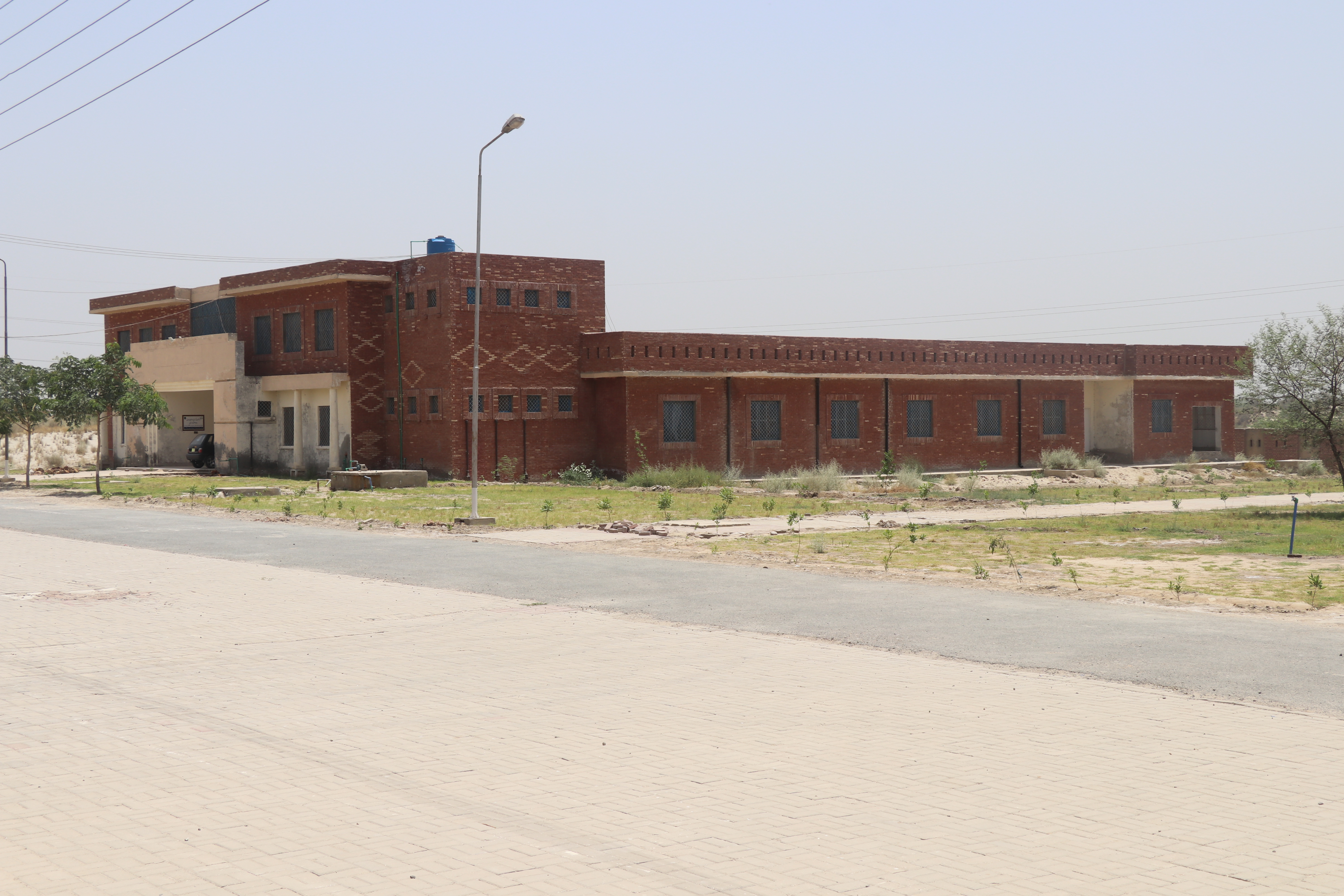 College Hostel and canteen for Remote area students